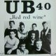 UB40 / RED RED WINE (UK) 未 YYY178-2424-3-4