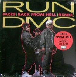 画像1: RUN DMC / FACES / BACK FROM HELL (REMIX) Feat. CHUCK D, ICE CUBE YYY155-2216-7-13