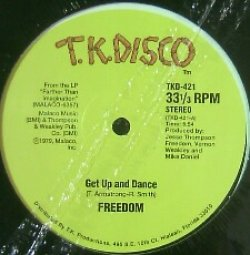 画像1: FREEDOM / GET UP AND DANCE YYY15-283-6-6