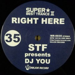 画像1: $$ STF Presents DJ You – Right Here / Scream (MR-0035) 最終 Y2