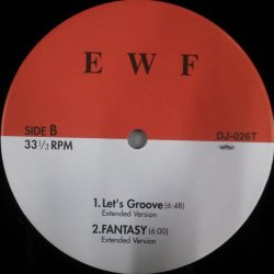 画像1: %% EARTH WIND & FIRE / LET'S GROOVE 他 DJ-026T YYY165-2250-6-7