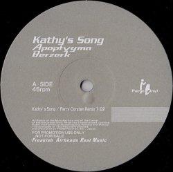 画像1: $ Apoptygma Berzerk / DJ Flying Dutchman – Kathy's Song (Ferry Corsten Remix) / Everlasting Love (none) YYY10