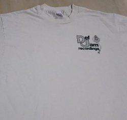 画像1: ストック大放出 Daf Jam Recordings Tシャツ白長袖 (2XL)