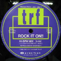 画像1: trf / ROCK IT ON!! (Hi-BPM MIX)