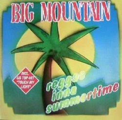画像1: %% BIG MOUNTAIN / REGGAE INNA SUMMERTIME (120-07-652) YYY184-2783-5-58  (GERMANY)