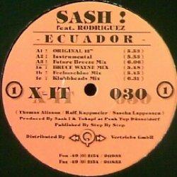 画像1: $$ Sash ! Feat. Rodriguez – Ecuador (X-IT 030) YYY327-4149-8-39
