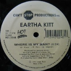 画像1: $$ EARTHA KITT / WHERE IS MY MAN?・ INDIA / STAY WITH ME (HCL 2248) YYY273-3196-5-10