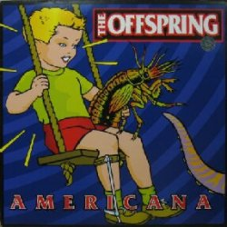 画像1: THE OFFSPRING / AMERICANA (C 696619) 通常盤LP 貴重 YYY0-385-1-1