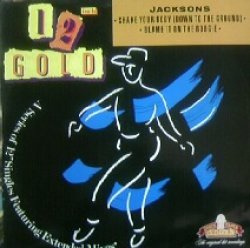 画像1: JACKSONS / SHAKE YOUR BODY (DOWN TO THE GRIOUND) - 12inch GOLD
