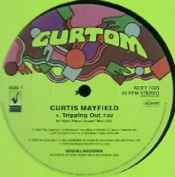 画像1: $$ CURTIS MAYFIELD / TRIPPING OUT (NEET 1025) YYY0-6-3-3+