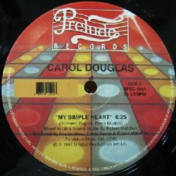 画像1: %% CAROL DOUGLAS / MY SIMPLE HEART (Unidisc) SPEC-1551 Y20 後程店長確認