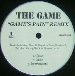画像1: THE GAME / GAME'S PAIN REMIX