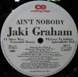 画像1: JAKI GRAHAM / AIN'T NOBODY / BREAKING AWAY YYY107-1721-20-37