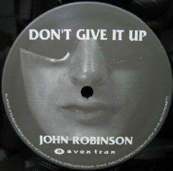 画像1: JOHN ROBINSON / DON'T GIVE IT UP