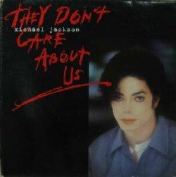 画像1: $$ Michael Jackson / They Don't Care About Us (662950 6) YYY291-2481-8-8
