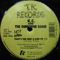 画像1: KC & The Sunshine Band / THAT'S THE WAY (I LIKE IT) YYY31-634-5-49