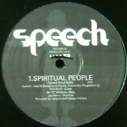 画像1: % SPEECH / SPIRITUAL PEOPLE (PRT-8431) YYY265-3065-5-6