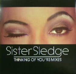 画像1: $ Sister Sledge ‎/ Thinking Of You ('93 Mixes) ジャケ傷み (A 4515 T) YYY203-3030-5-5