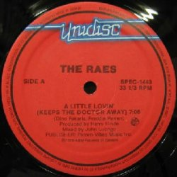 画像1: THE RAES / A LITTLE LOVIN'