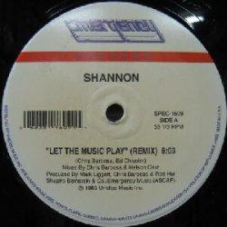 画像1: $$ SHANNON / LET THE MUSIC PLAY (SPEC-1609)