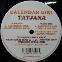 画像1: TATJANA / CALENDAR GIRL YYY169-2298-5-80  原修正