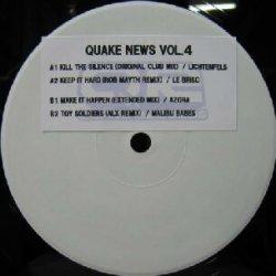 画像1: $$ QUAKE NEWS VOL.4 (QRNW-4) Y12